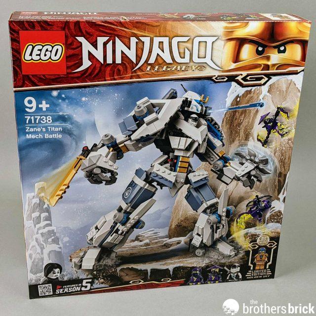 LEGO Ninjago Legacy 71738 Zane's Titan Mech Battle [Review ...