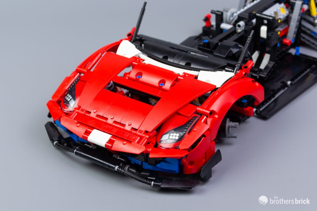 Lego Technic 42125 Ferrari 488 Gte Af Corse 51 Review The Brothers Brick The Brothers Brick