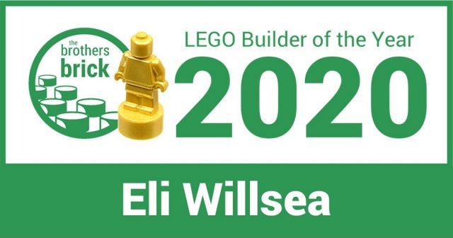 Best LEGO builder of 2020