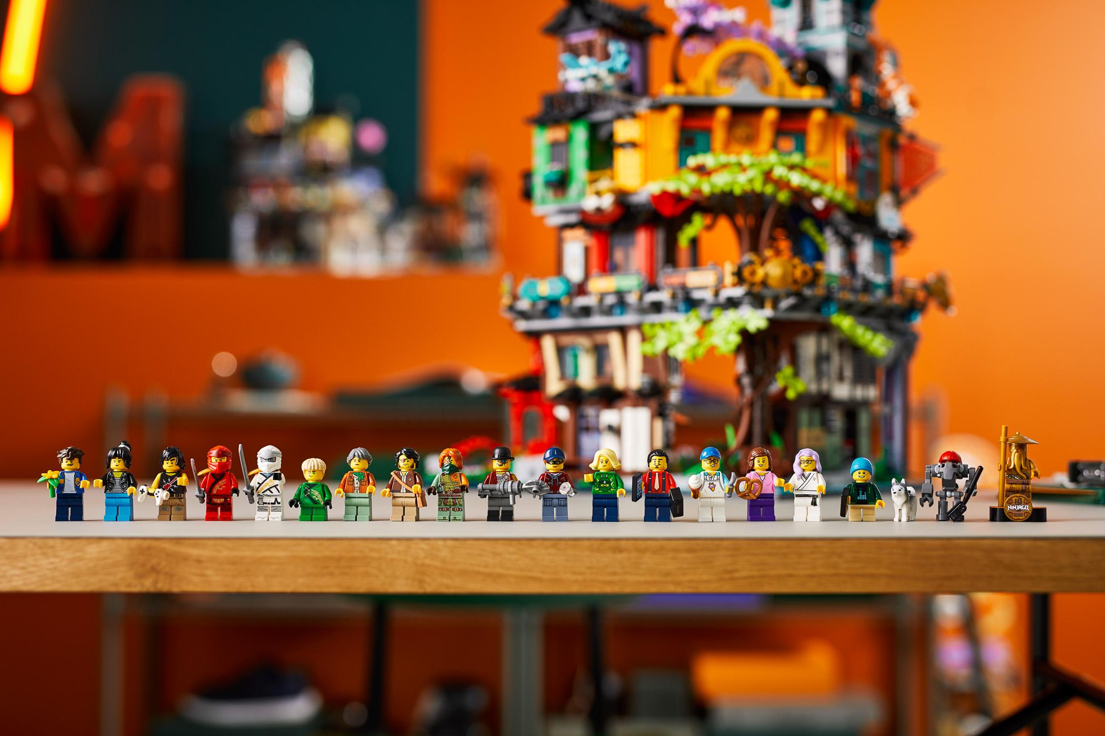 LEGO Ninjago 71741 Ninjago City Gardens - B61UU-6   The ...