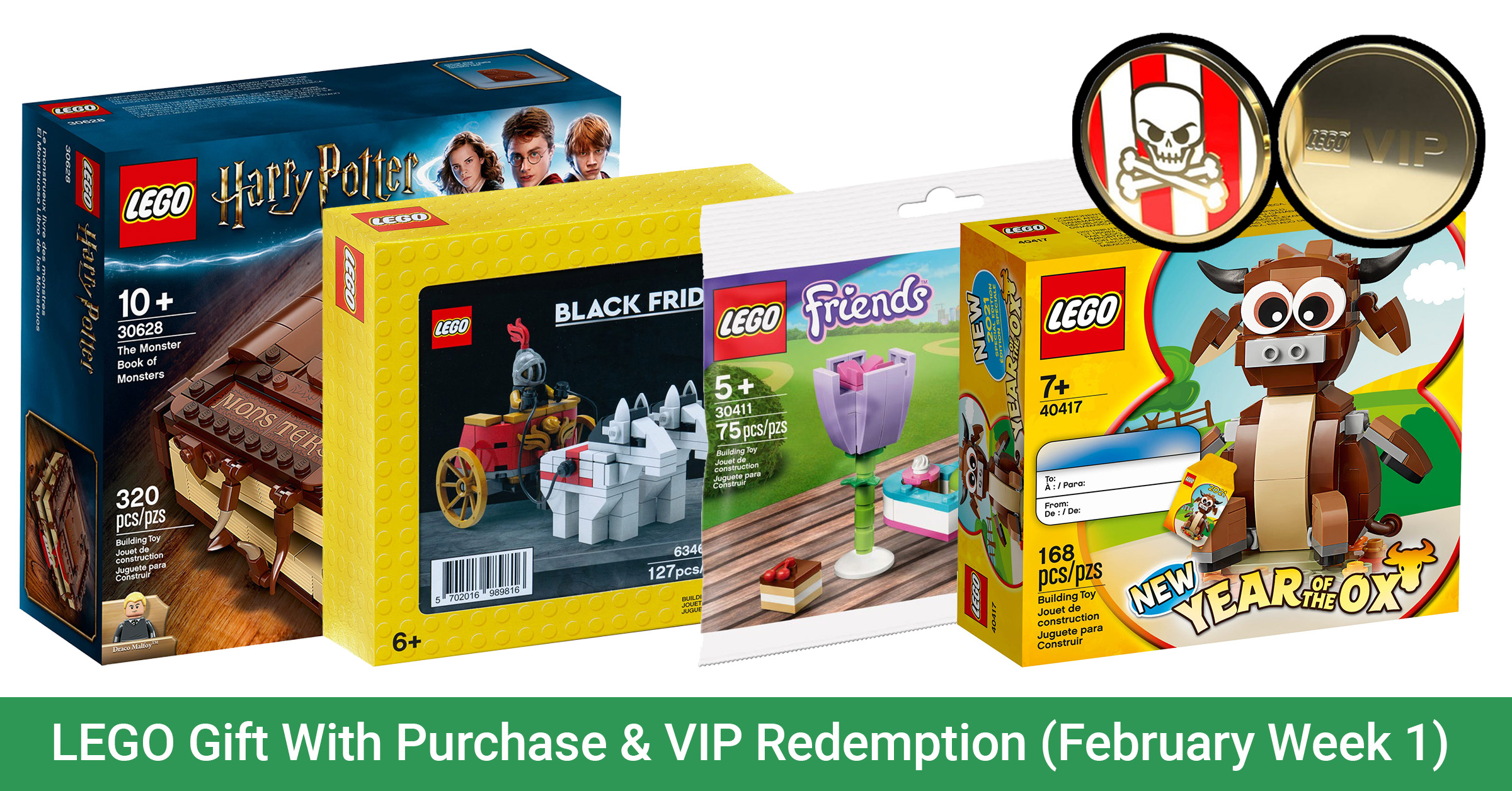 LEGO Gift With Purchase Feb 2021 with VIP Redemption | The ...