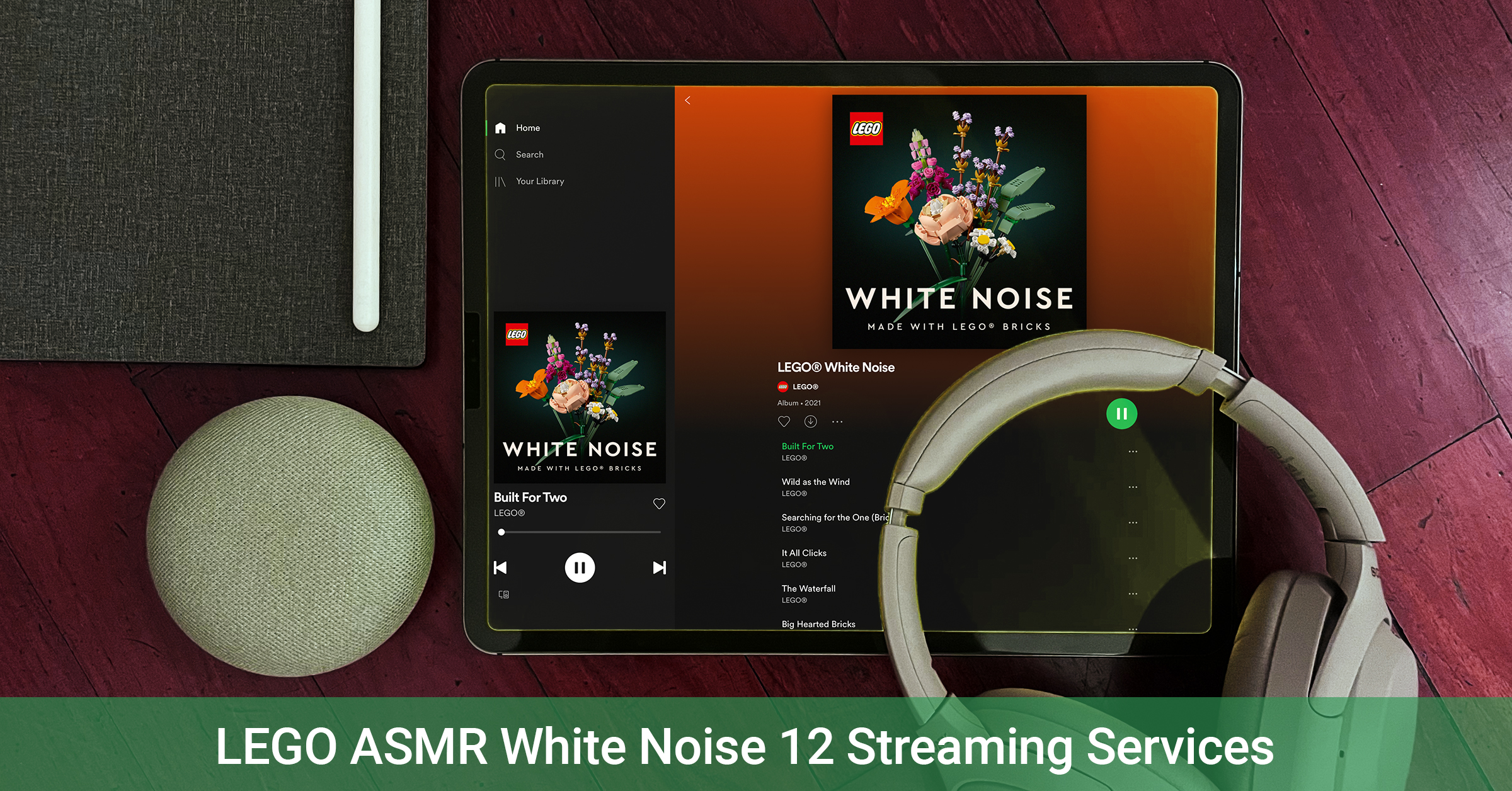 The making of LEGO ASMR White Noise and the 12 streaming services available for access [News]