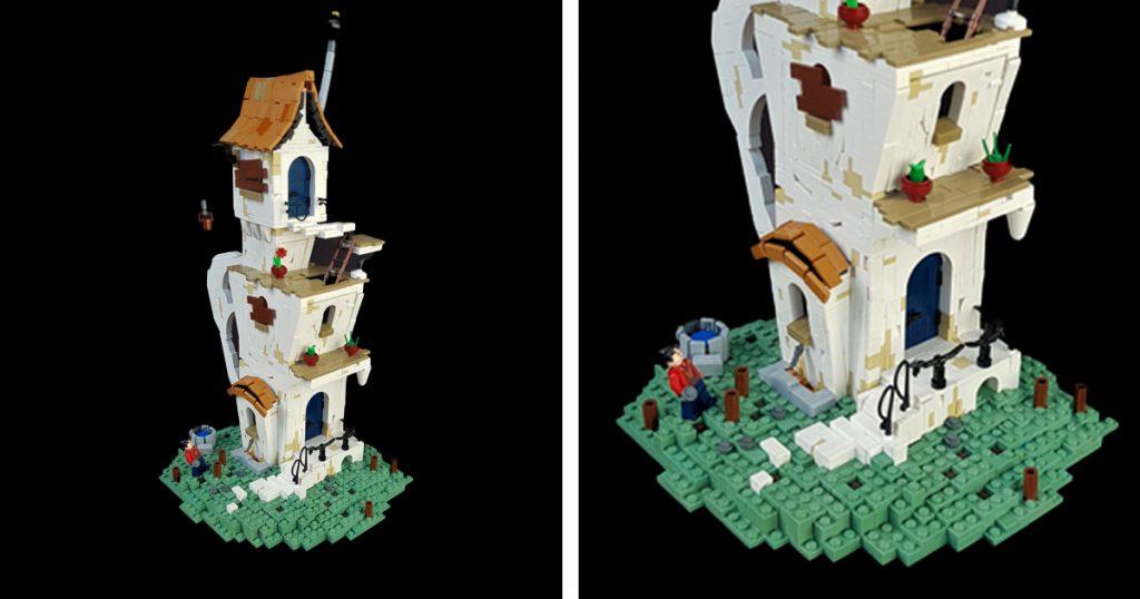 @pdennybricks speaks for the trees in this Seuss-inspired build.