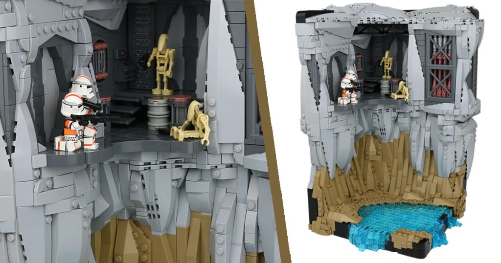 Noah (@h2brick) is back with another Star Wars build, this time focused on the planet of Utapau featured in Revenge of the Sith.