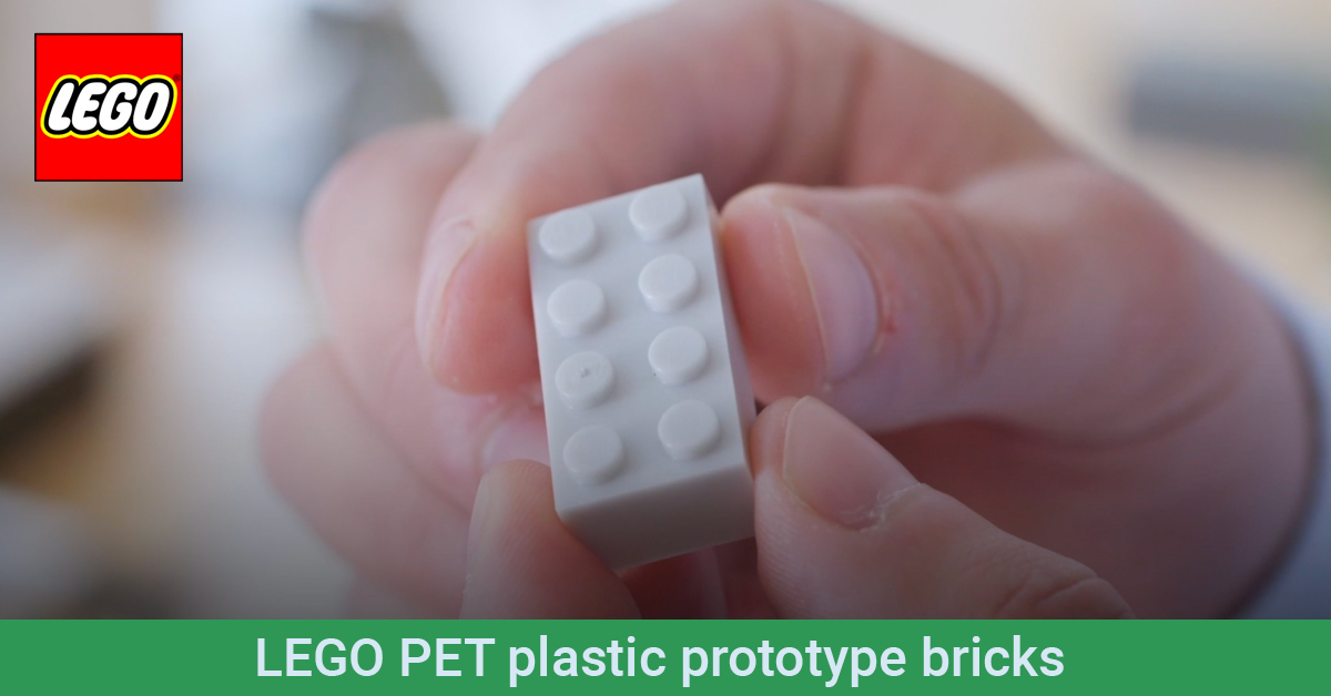 LEGO prototype brick made from recycled plastic is a leap towards sustainable goals [News] | The Brothers Brick