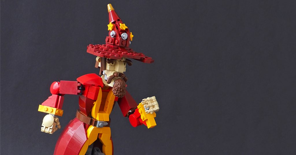 Discworld fans will love this creative LEGO build from @eerookkonen of the character Rincewind.