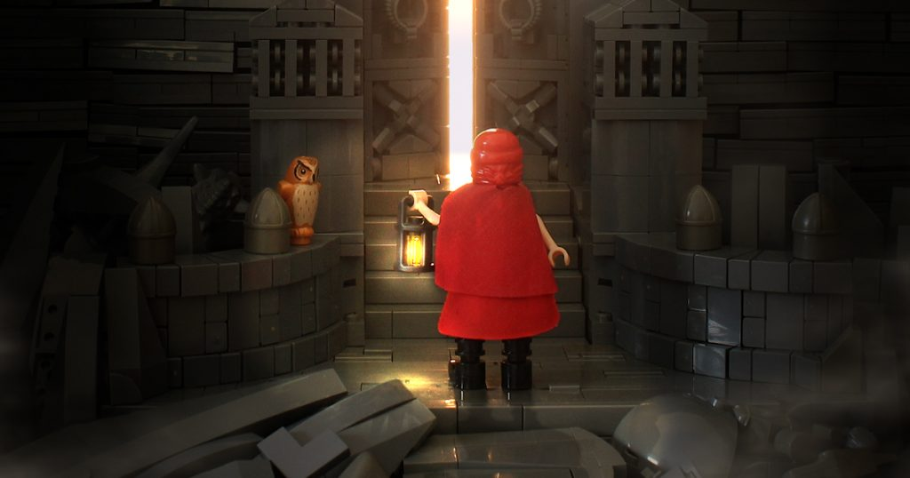This LEGO creation from Joe (@jnj_bricks) is wonderfully moody.