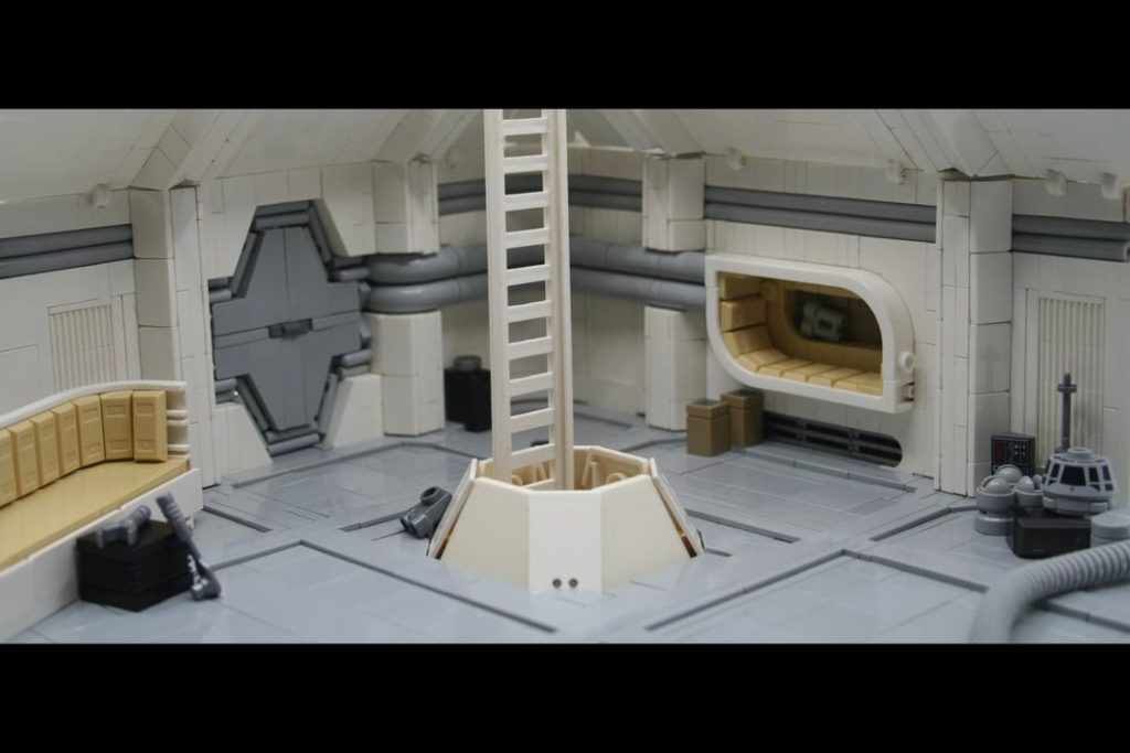 LEGO Spaceship Alien Ron Cobb