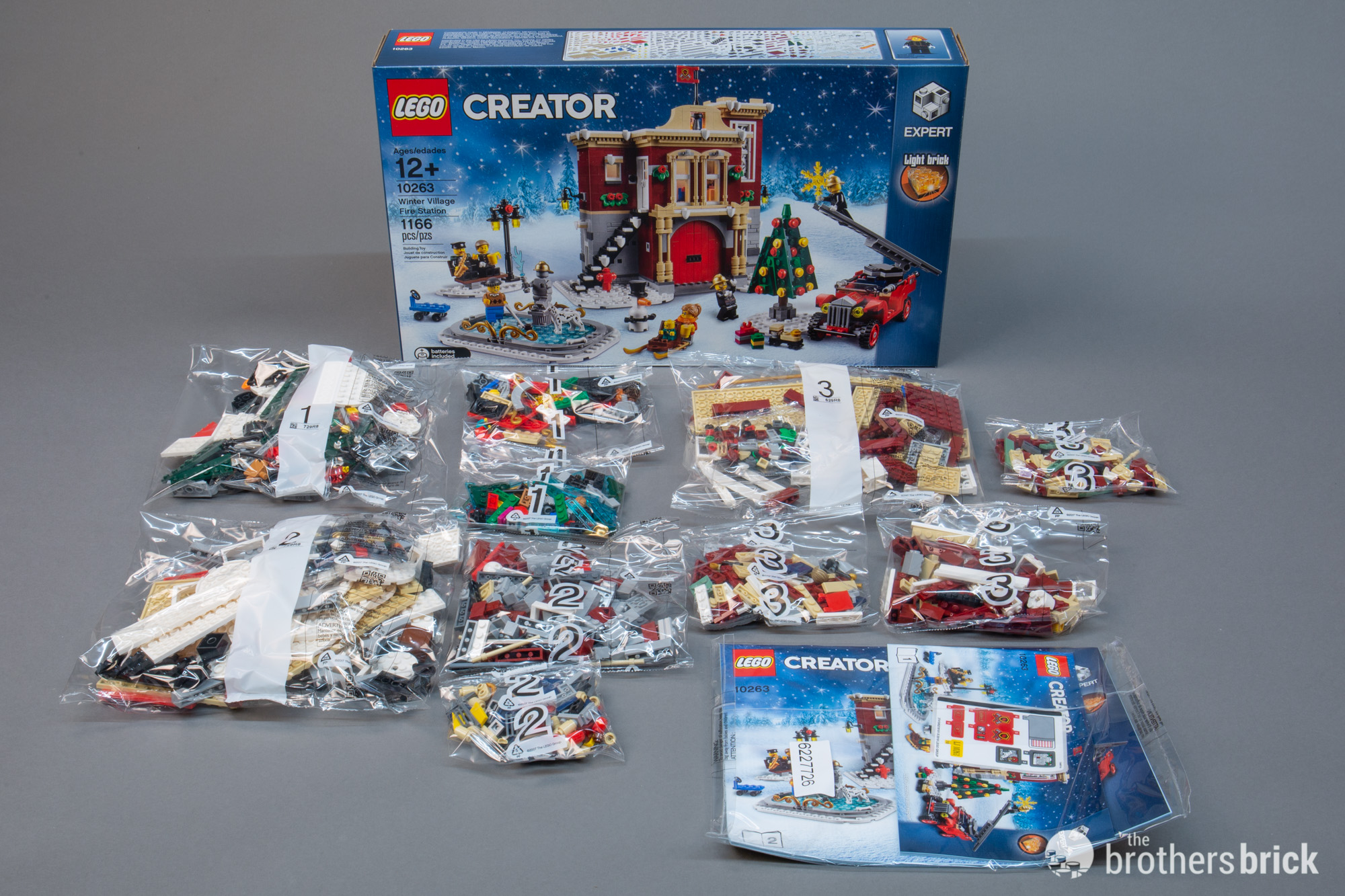 Lego Creator 10263 Winter Village Fire Station Review The