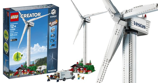 LEGO opens vault to re-release 10268 Vestas Wind Turbine on Black