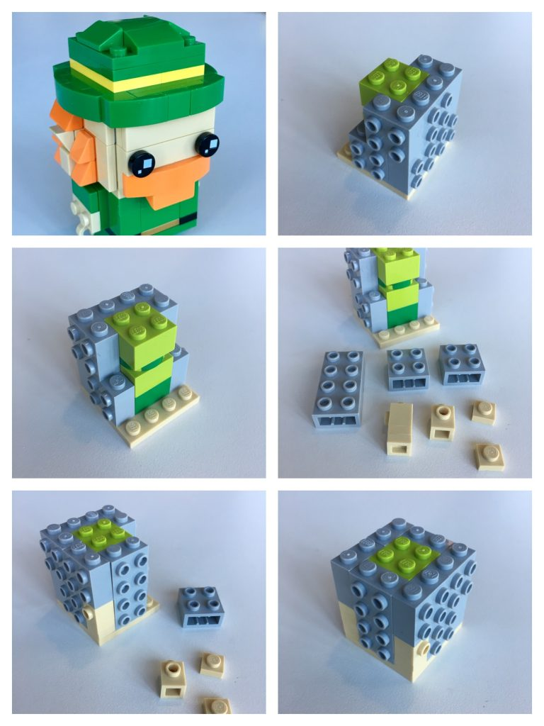LEGO BrickHeadz Leprechaun instructions - Step 1