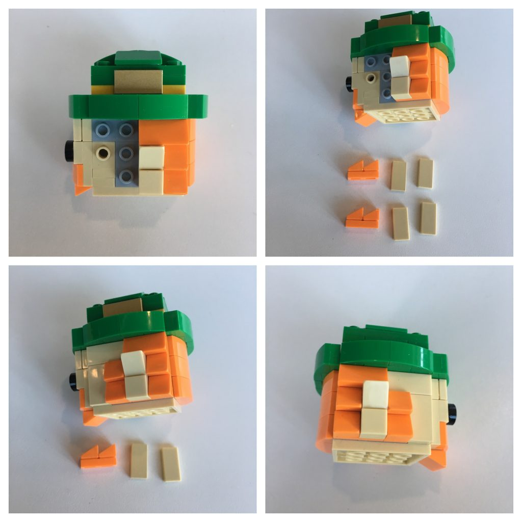 LEGO BrickHeadz Leprechaun instructions - Step 5