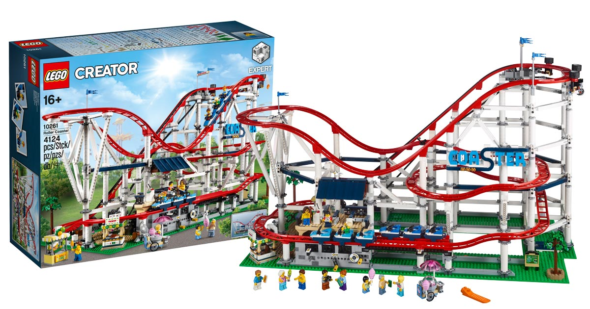 lego unveils massive 10261 creator expert roller coaster. Black Bedroom Furniture Sets. Home Design Ideas