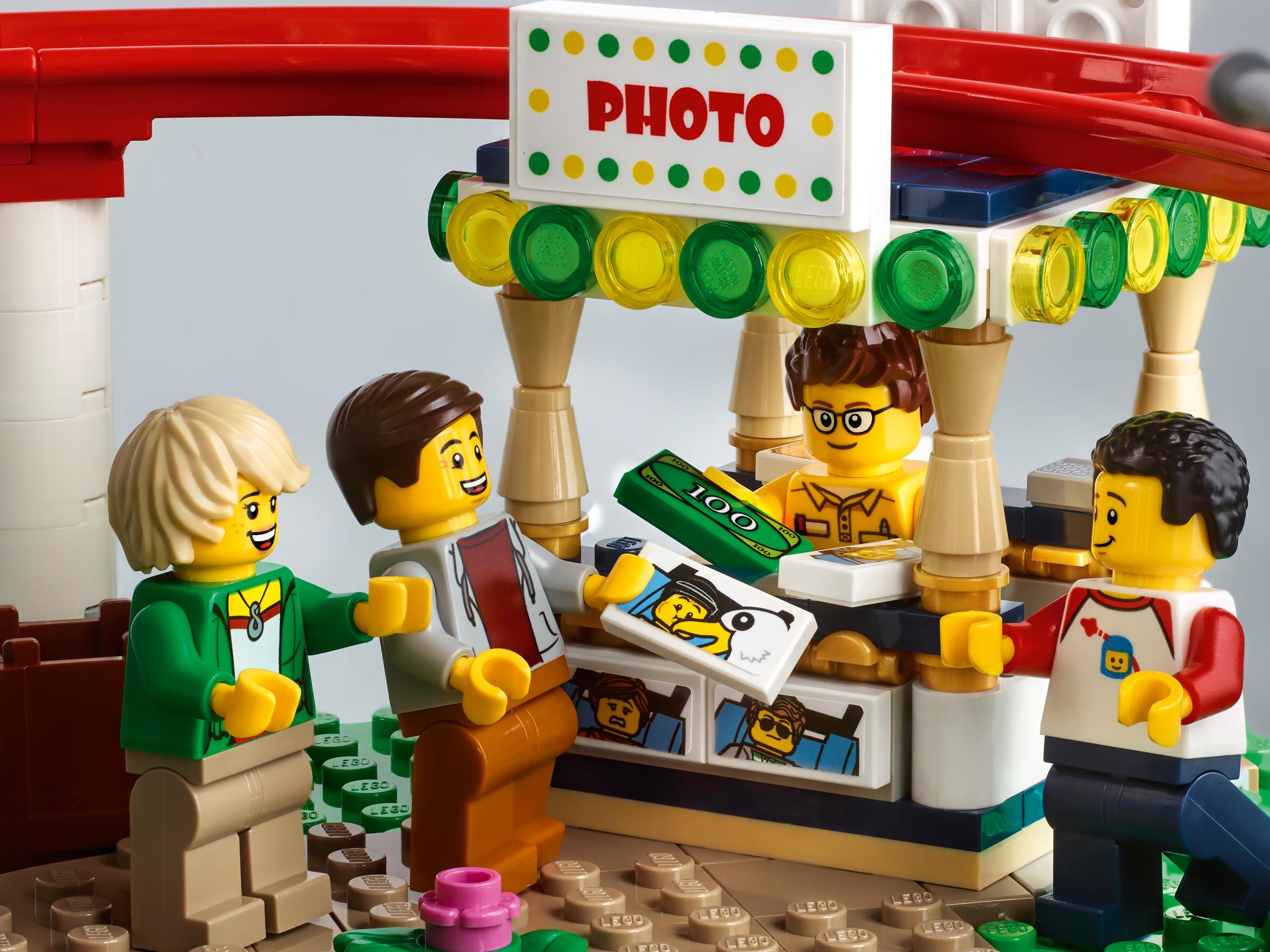 10261 lego creator expert roller coaster photo booth. Black Bedroom Furniture Sets. Home Design Ideas