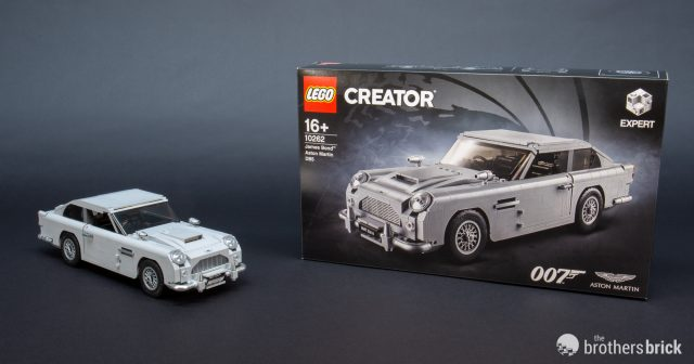 Top Secret Lego 10262 James Bond Aston Martin Db5 Review
