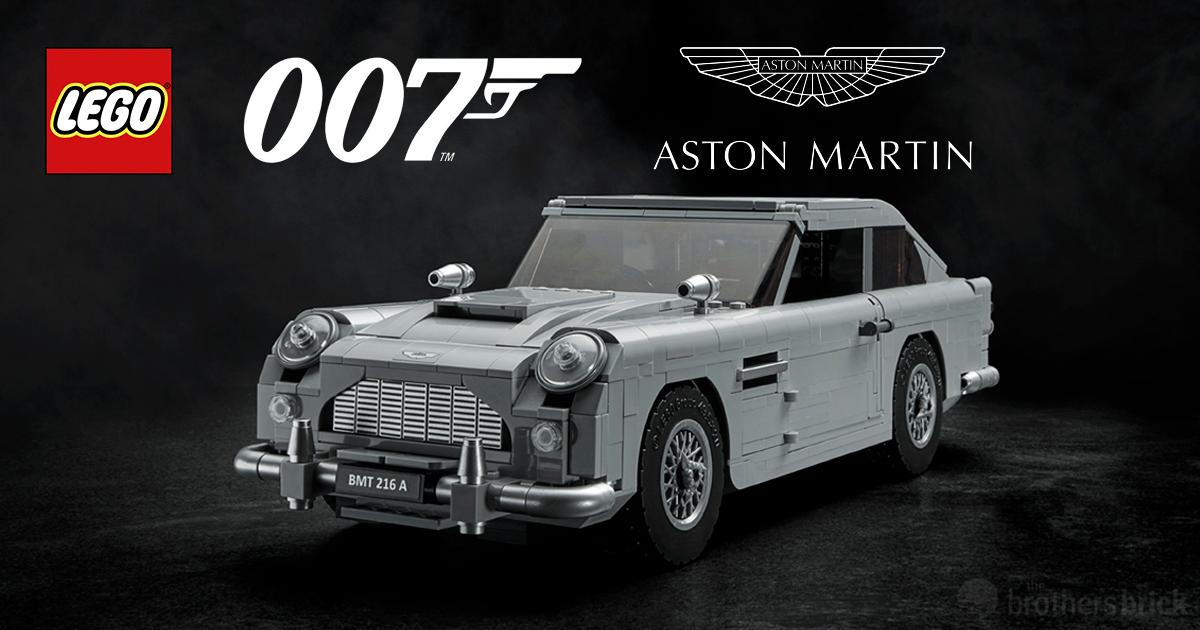 10262 james bond aston martin db5 revealed as next lego. Black Bedroom Furniture Sets. Home Design Ideas