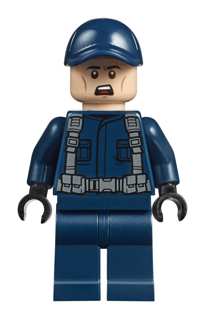 LEGO Jurassic World 10756 Pteranadon Escape - Mercenary 2