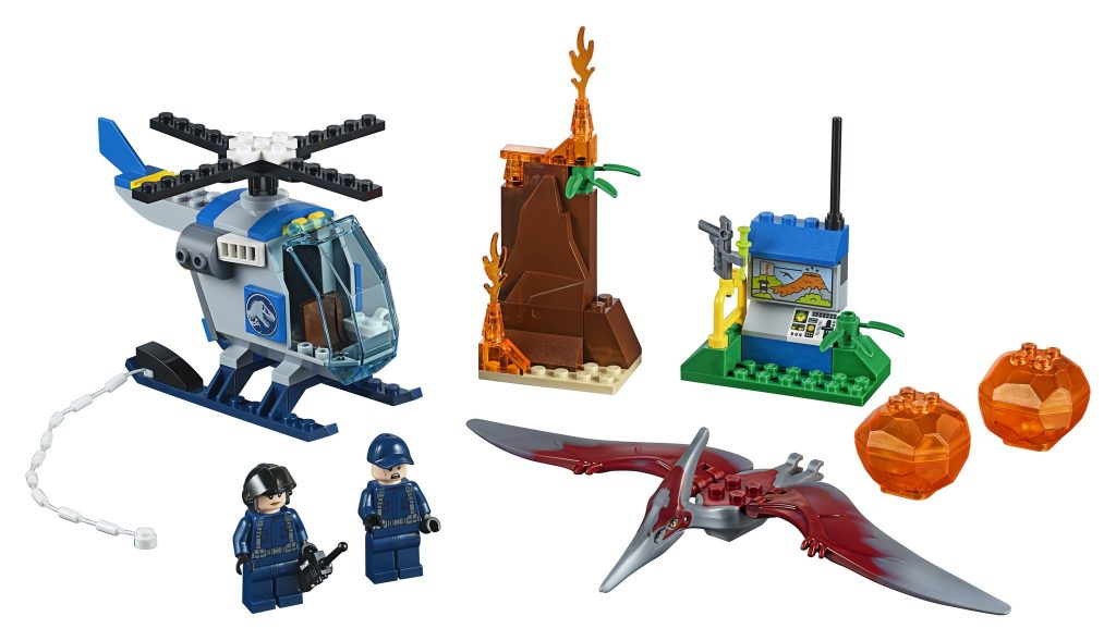 LEGO Jurassic World 10756 Pteranadon Escape - full set