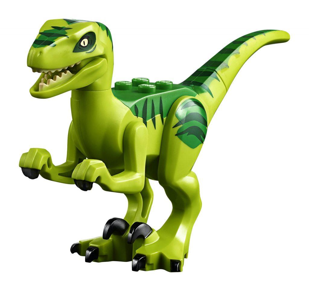 LEGO Jurassic World 10757 Raptor Rescue Truck - green raptor