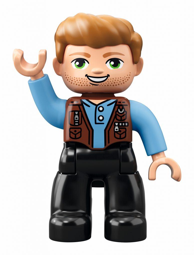 LEGO Duplo Jurassic World 10880 T. rex Tower - Owen