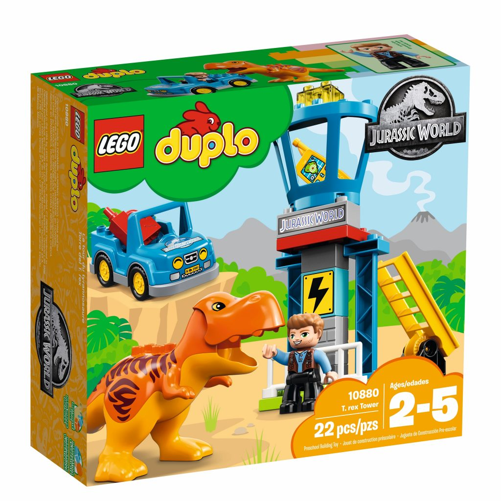 LEGO Duplo Jurassic World 10880 T. rex Tower - box