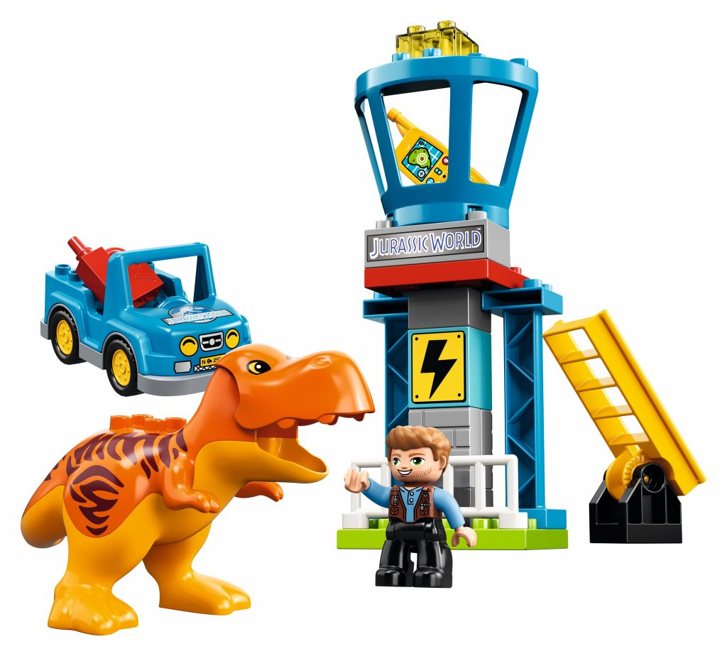 LEGO Duplo Jurassic World 10880 T. rex Tower - full set
