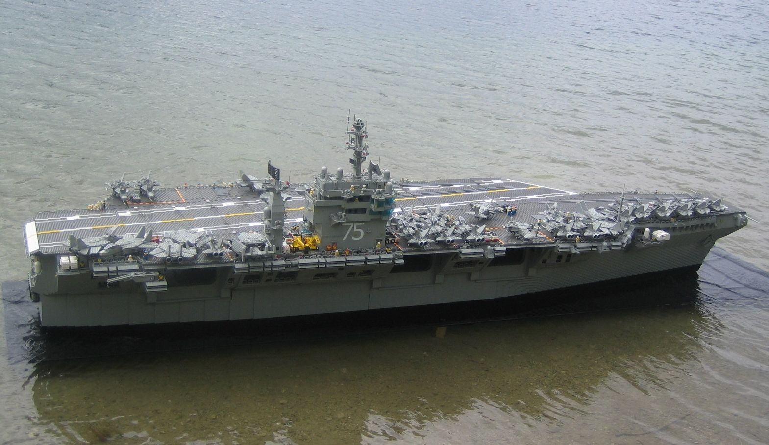 LEGO Harry S. Truman aircraft carrier