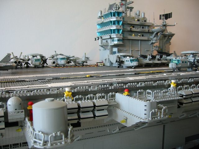 LEGO Harry S. Truman flight deck