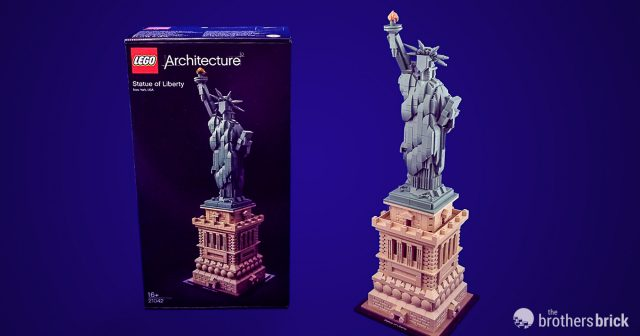 LEGO Architecture Statue of Liberty 21042 New York Lady Instruction Book Manual