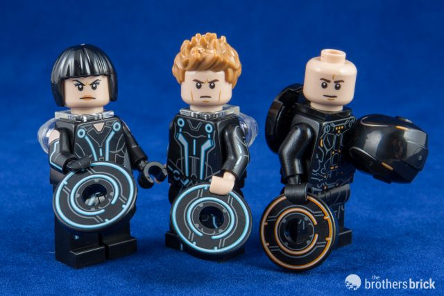 LEGO IDEAS FEMALE MINIGURE QUORRA TRON 21314 NO DISK!