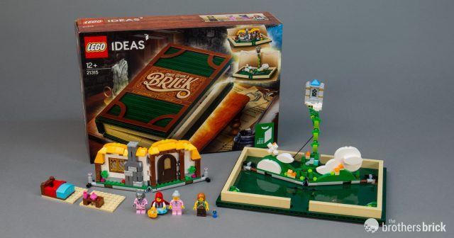 LEGO Ideas 21315 Pop-Up Book packs a big fairy-tale surprise