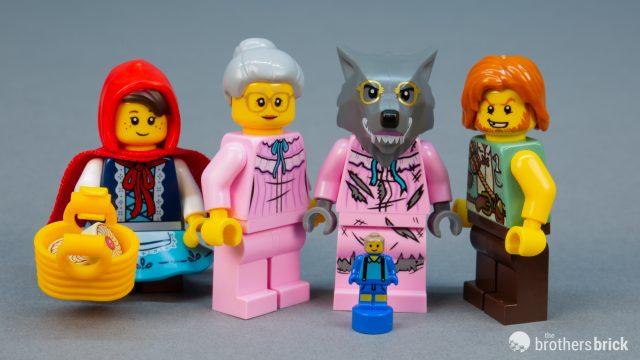LEGO Ideas Little Red Riding Hood Minifigure 21315 Mini Fig