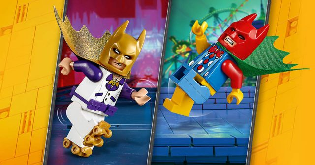 Free LEGO Disco Batman & Tears of Batman minifigures from The LEGO