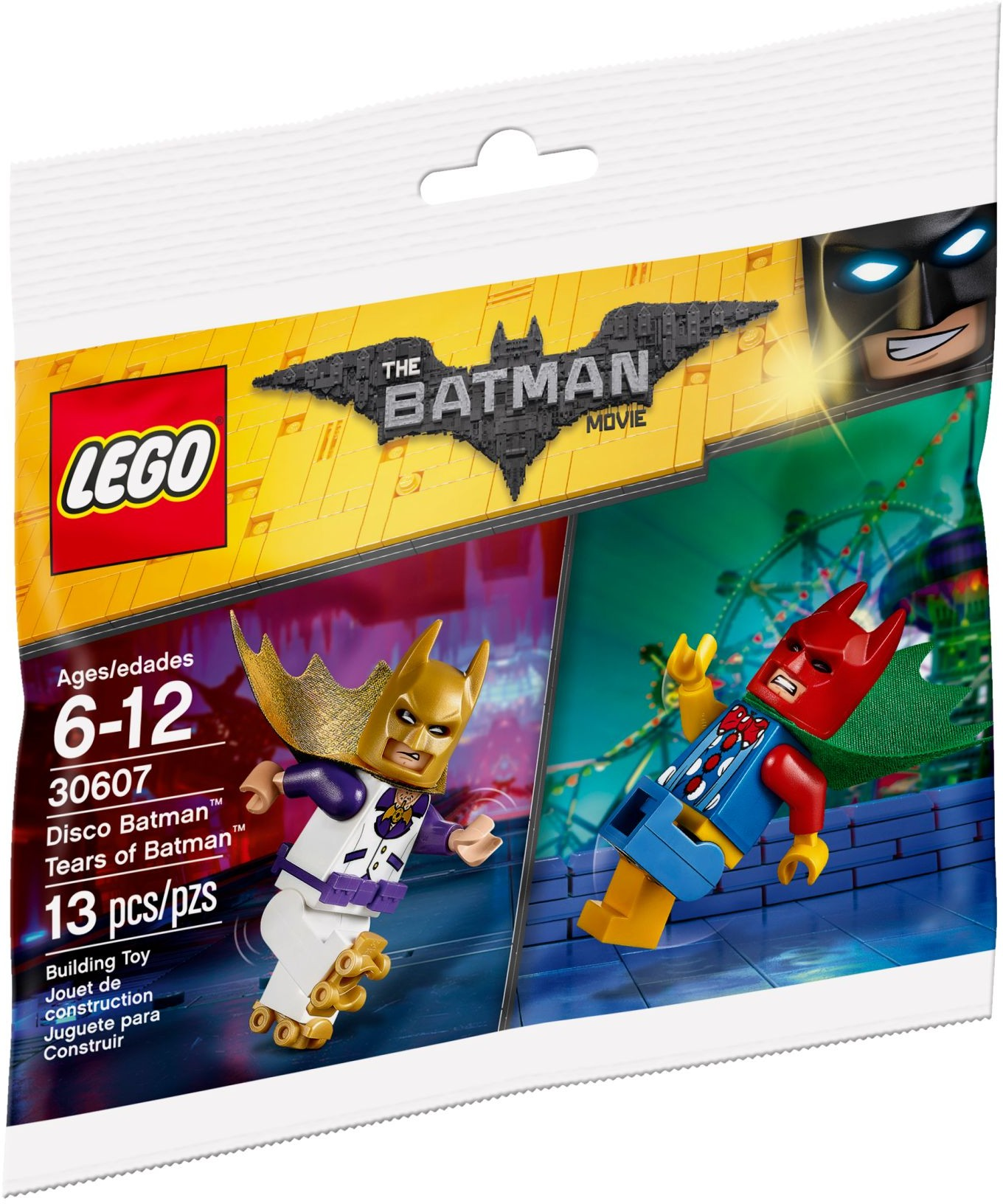 Free LEGO Disco Batman & Tears of Batman minifigures from The LEGO