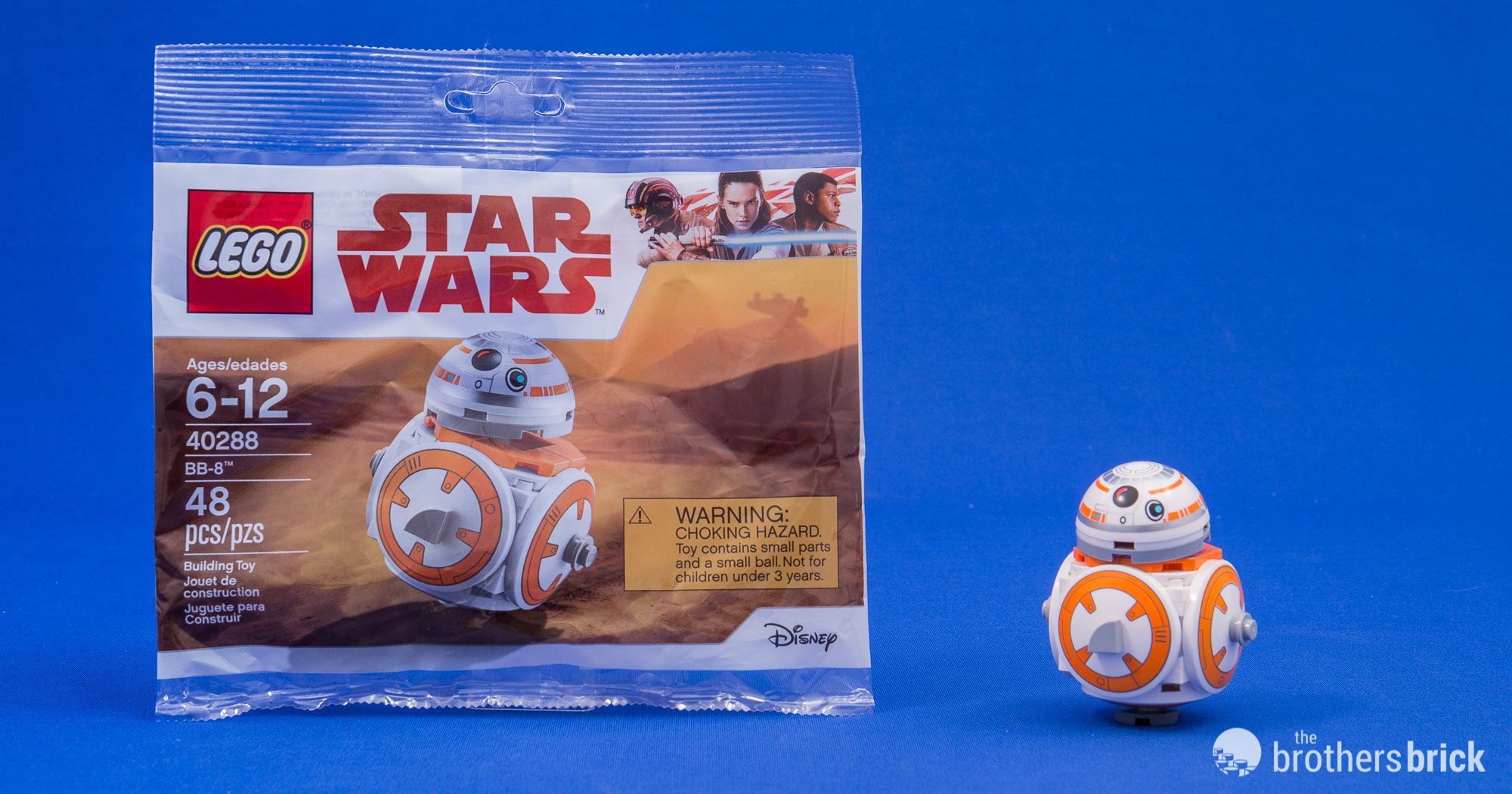 NEW! RARE LEGO PROMO Star Wars BB-8 **Unavailable in stores **
