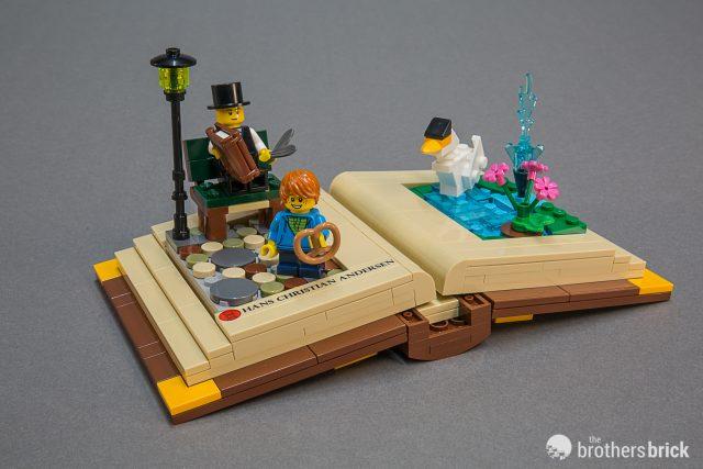 LEGO promo set 40291 Creative Personalities: Hans Christian Andersen