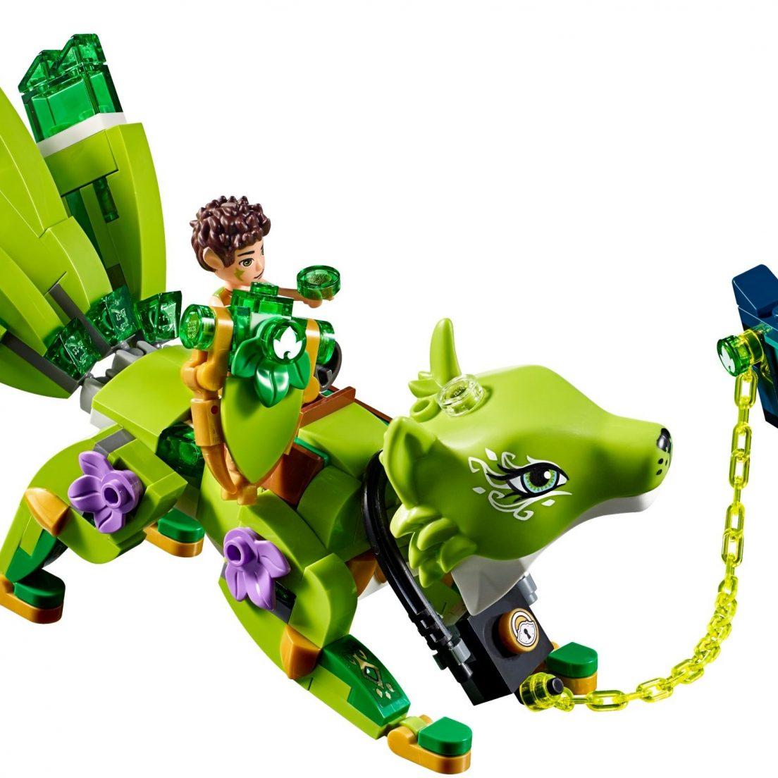 41194 Noctura's Tower & the Earth Fox Rescue dragon