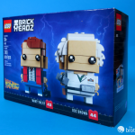 41611 Back To the Future BrickHeadz Box Front Tilt Left
