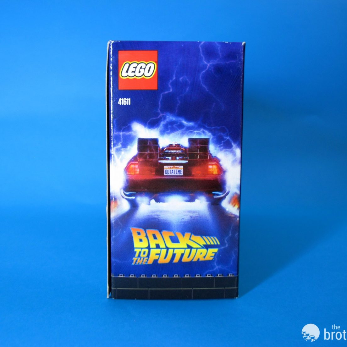 41611 Back To the Future BrickHeadz Box Side