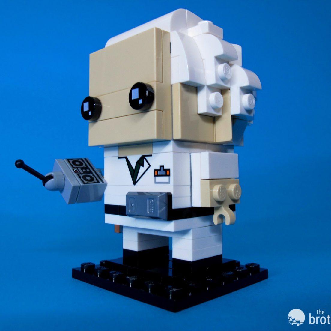 41611 Back To the Future BrickHeadz Doc Dramatic