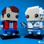 41611 Back To the Future BrickHeadz Doc and Marty Duo
