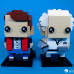 41611 Back To the Future BrickHeadz Doc and Marty Facing Front