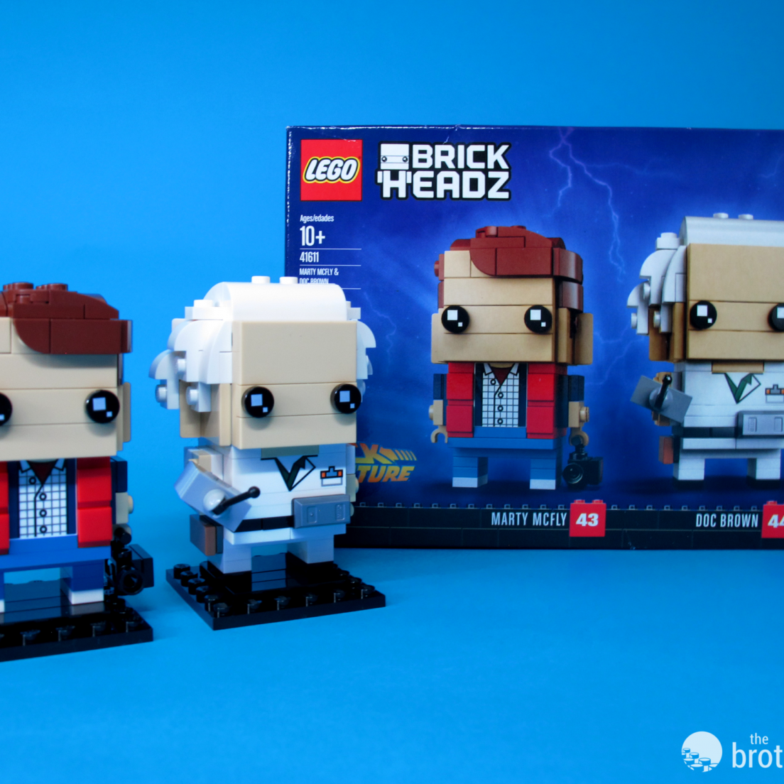 41611 Back To the Future BrickHeadz Hero Shot