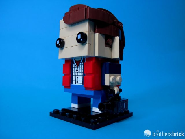 41611 Back To the Future BrickHeadz Marty Dramatic