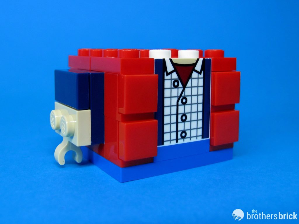 41611 Back To the Future BrickHeadz Marty Torso Marty