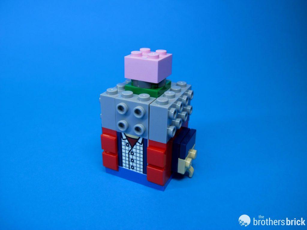 41611 Back To the Future BrickHeadz Marty Torso and Brain