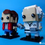 41611 Back To the Future BrickHeadz Marty and Doc Look Left