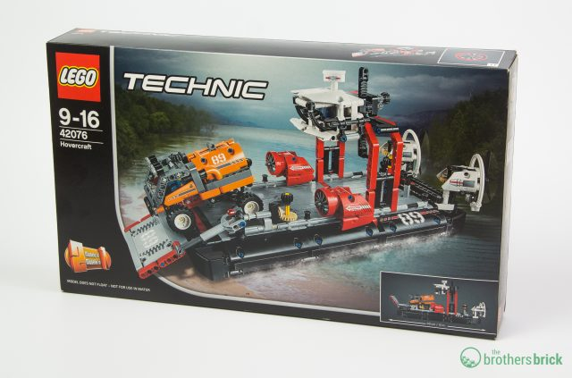 42076 Technic Hovercraft box