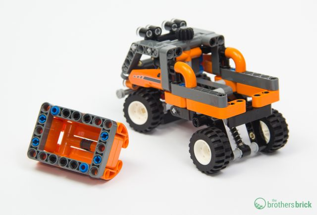 Cargo box for little Technic truck