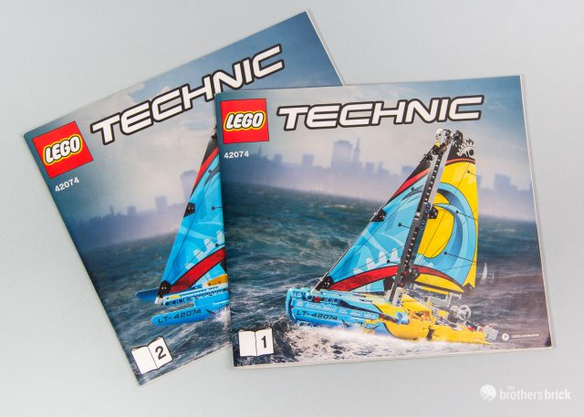Lego Technic 42074 Racing Yacht Review The Brothers Brick The